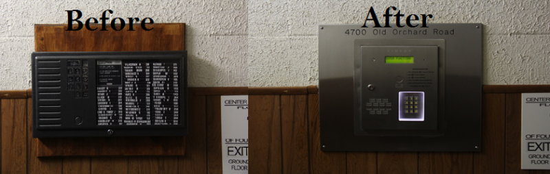 Linear Intercom Installation done by NONSTOP Locksmith