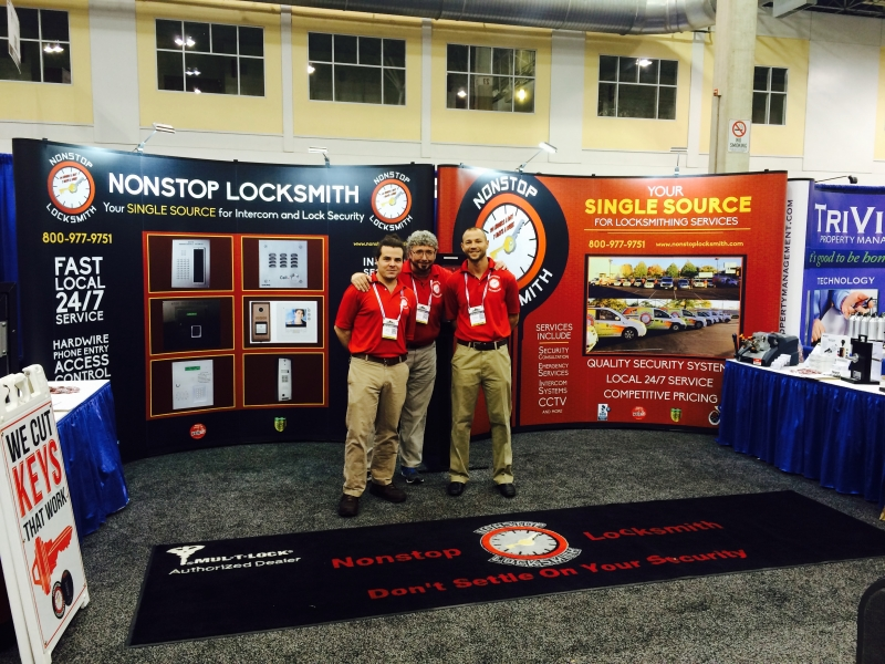 Nonstop Locksmith At Chicago Tradeshow