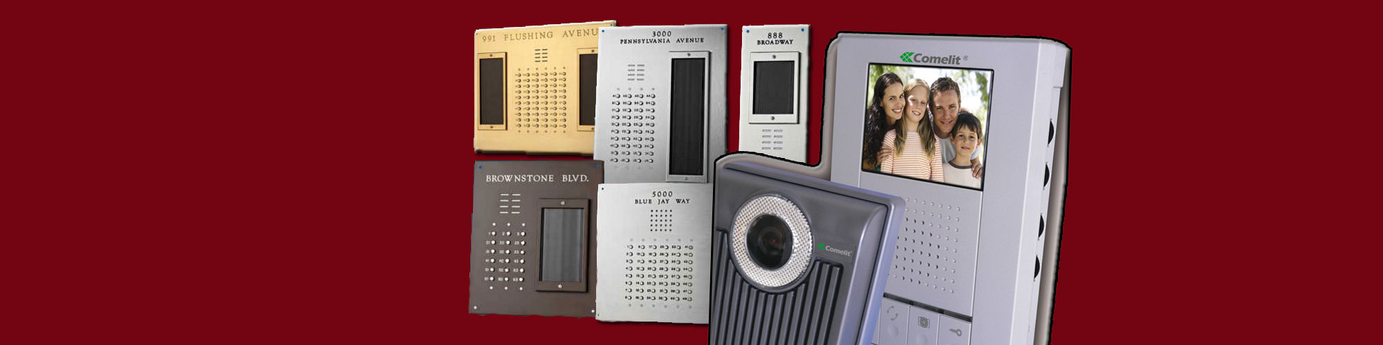 Intercom Units and Panels