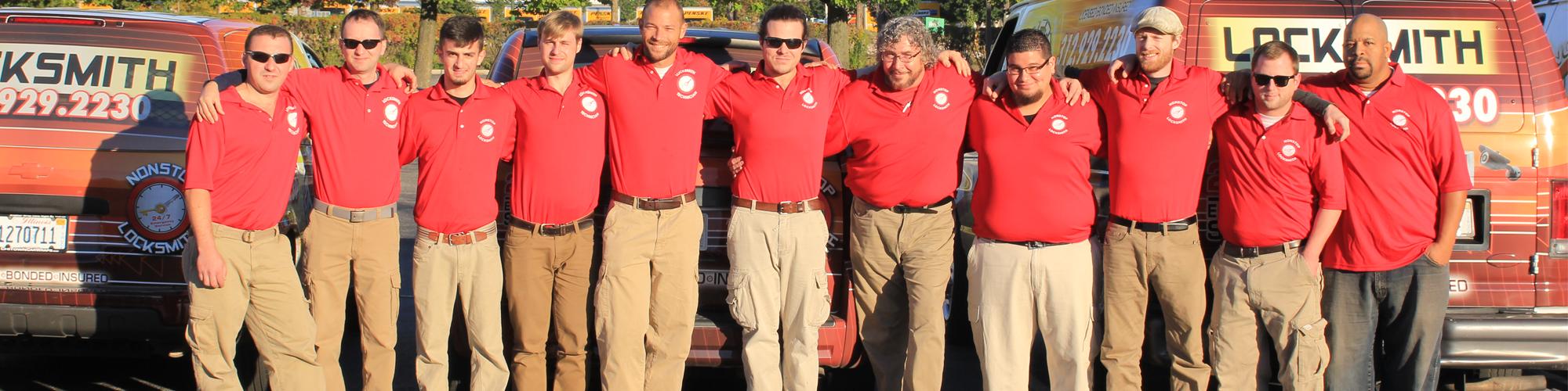 Dedicated Team of Locksmith Professionals